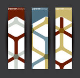 Vertical banner elements royalty free illustration