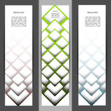 Vertical banner set Royalty Free Stock Photography