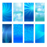 Vertical banner set design element background glow abstract  Stock Photos