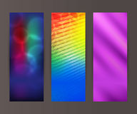 Vertical banner set design element background glow abstract  Stock Photography