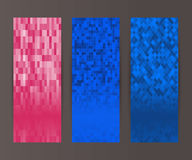Vertical banner set design element background glow abstract  Stock Images