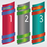 Vertical Banner. Stock Photography