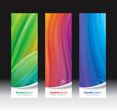 Vertical Banners stock photography