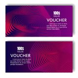 Vertical banners with 3D abstract background . Vector design layout for business presentations, flyers, posters and. Invitations. blue and violet stock illustration