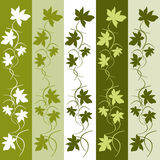 Vertical banners floral pattern Stock Images