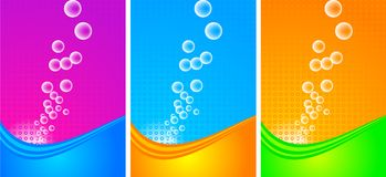 Vertical banners set - eps 10 Royalty Free Stock Photography