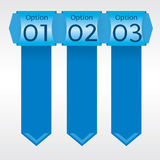 Vertical Banners. Stock Image