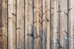 Vertical bare wooden planks texture stock images
