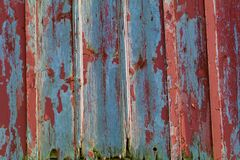 Vertical barn wood Stock Images