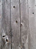 Vertical Barnwood Boards. A wall of vertical grey barn wood boards Royalty Free Stock Photography