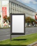 Vertical billboard Royalty Free Stock Image