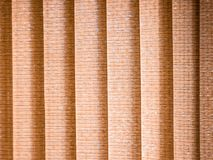 Vertical blind light brown royalty free stock photography