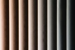 Vertical blinds Royalty Free Stock Image