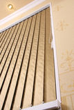 Vertical blinds. As a background Stock Photos