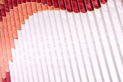 Vertical blinds Stock Photo