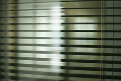Office blinds. Vertical blinds in new one business office Royalty Free Stock Images