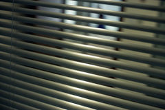 Office blinds Royalty Free Stock Photos