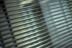 Office blinds. Vertical blinds in new one business office stock photo