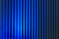 Vertical blue lines abstract background Stock Photos