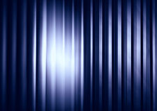 Vertical blueish metal texture with light leak Royalty Free Stock Photos