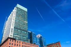 Vertical Boston Stock Image