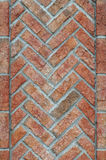 Vertical Brick Wall Royalty Free Stock Images