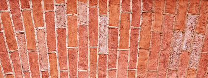 Vertical bricklaying Stock Photography