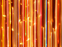 Vertical Bright Glowing Lines as Background Stock Photography
