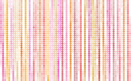 Vertical bubble stripes in orange pink over white Royalty Free Stock Photo