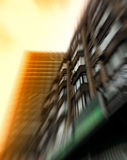 Vertical business building abstraction Stock Images