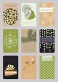 Vertical Business Cards Stock Photos
