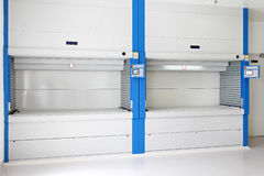 Vertical carousels Royalty Free Stock Image