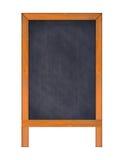 Vertical Chalkboard. Stock Image