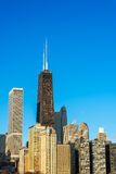 Vertical Chicago Cityscape Stock Photo
