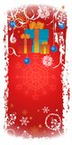 Vertical Christmas banner Royalty Free Stock Image