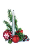 Vertical christmas composition Stock Photo