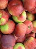 Vertical close up of apples Royalty Free Stock Photography