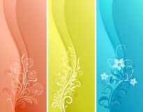 Vertical color banners Stock Photo