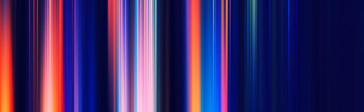 Vertical color motion blur abstraction Royalty Free Stock Photos