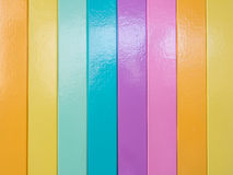 Vertical color stripes wallpaper. Of modern house Royalty Free Stock Photography