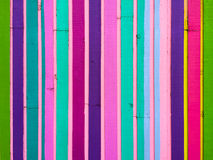 Vertical colored Stripes Abstract Stock Image