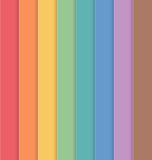 Vertical Colorful Striped Seamless Background. Vector Royalty Free Stock Photos