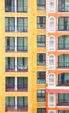 Vertical condominium building Stock Image
