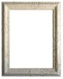 Vertical coralina del marco de la piedra caliza blanca fotos de archivo libres de regalías