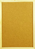 Vertical corkboard Stock Photo