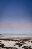 Vertical crepuscular del océano foto de archivo libre de regalías