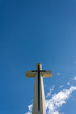 Vertical cross Royalty Free Stock Photo