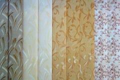Vertical curtains blinds stock photos