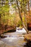 Vertical da cachoeira do outono Fotografia de Stock Royalty Free