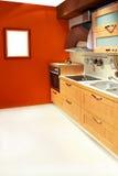 Vertical da cozinha do Terracotta Fotografia de Stock Royalty Free